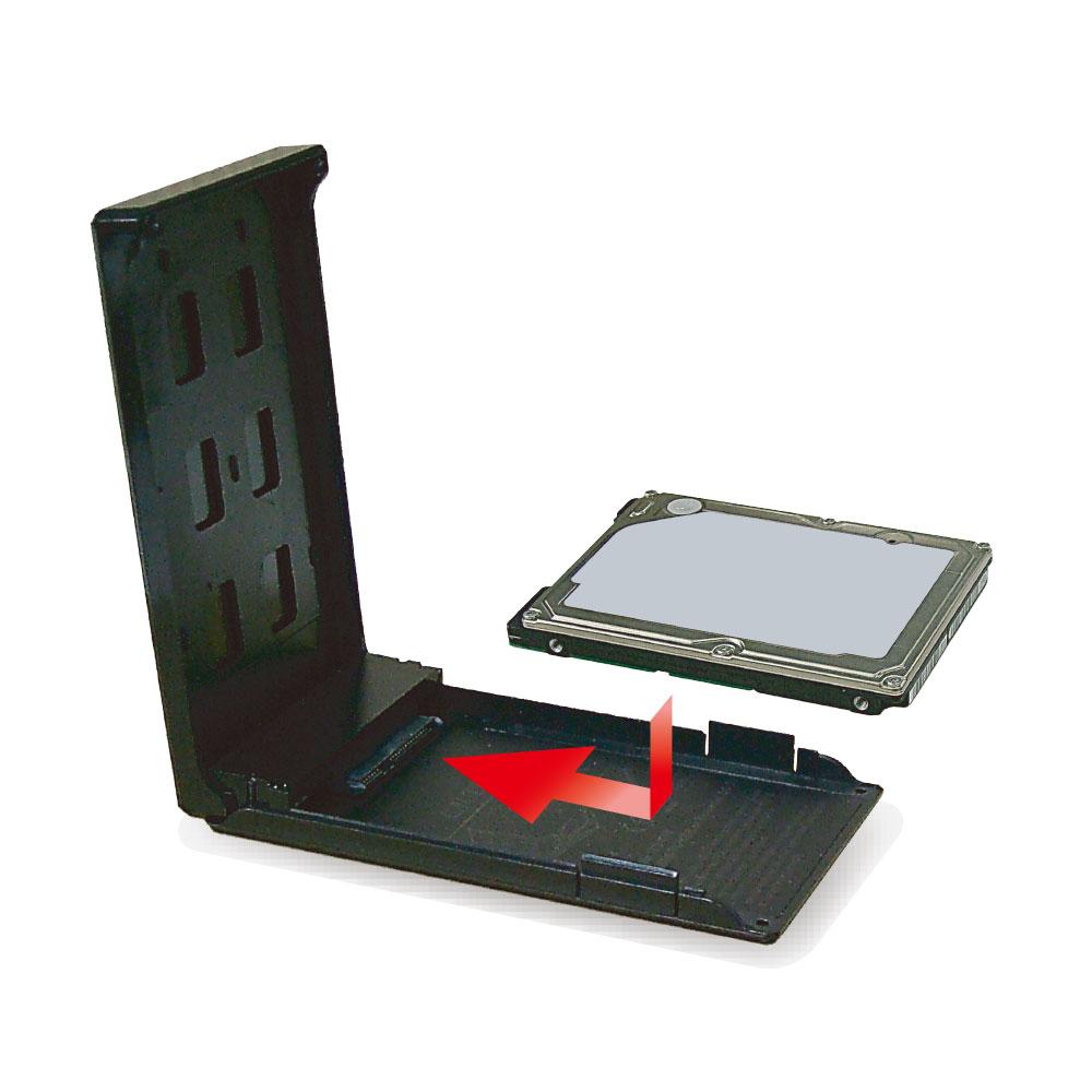 USB3.1 Gen2対応 2.5インチHDD/SSDケース ガチャポンパッ!mini USB Type-C to C 接続(OWL-EGP25U31C)