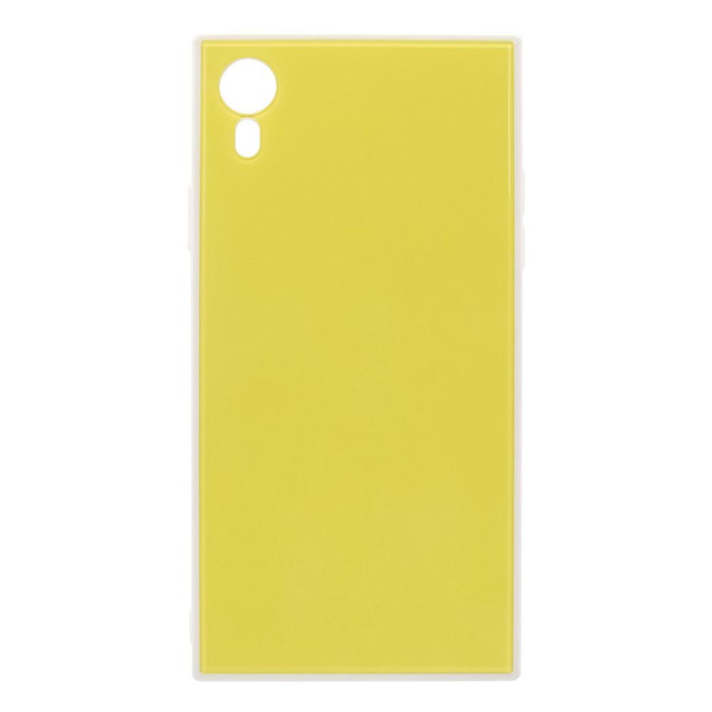 iPhone XR 6.1インチ 背面強化ガラスハイブリッドケース(OWL-CVIA6117)