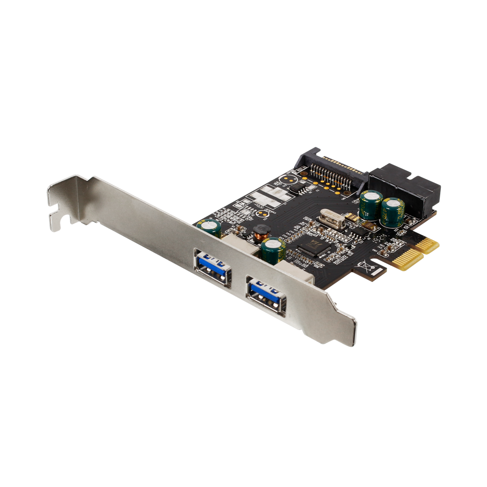 PCI-Express2.0接続 USB Type-A 3.0×2ポート(内部USB3.0×1コネクタ) インターフェースカード (OWL-PCEXU3E2I2S)