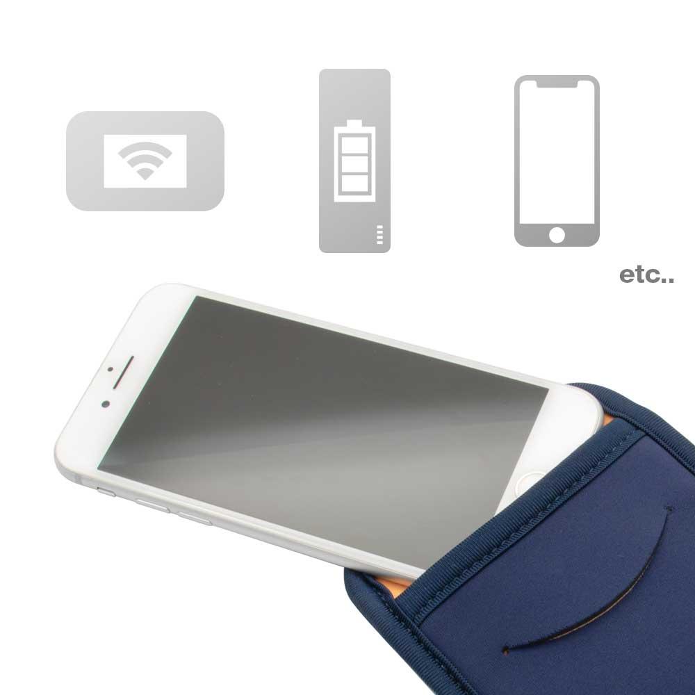 スマートフォンマルチスリーブケース カードポケット付き(OWL-MPSP02)