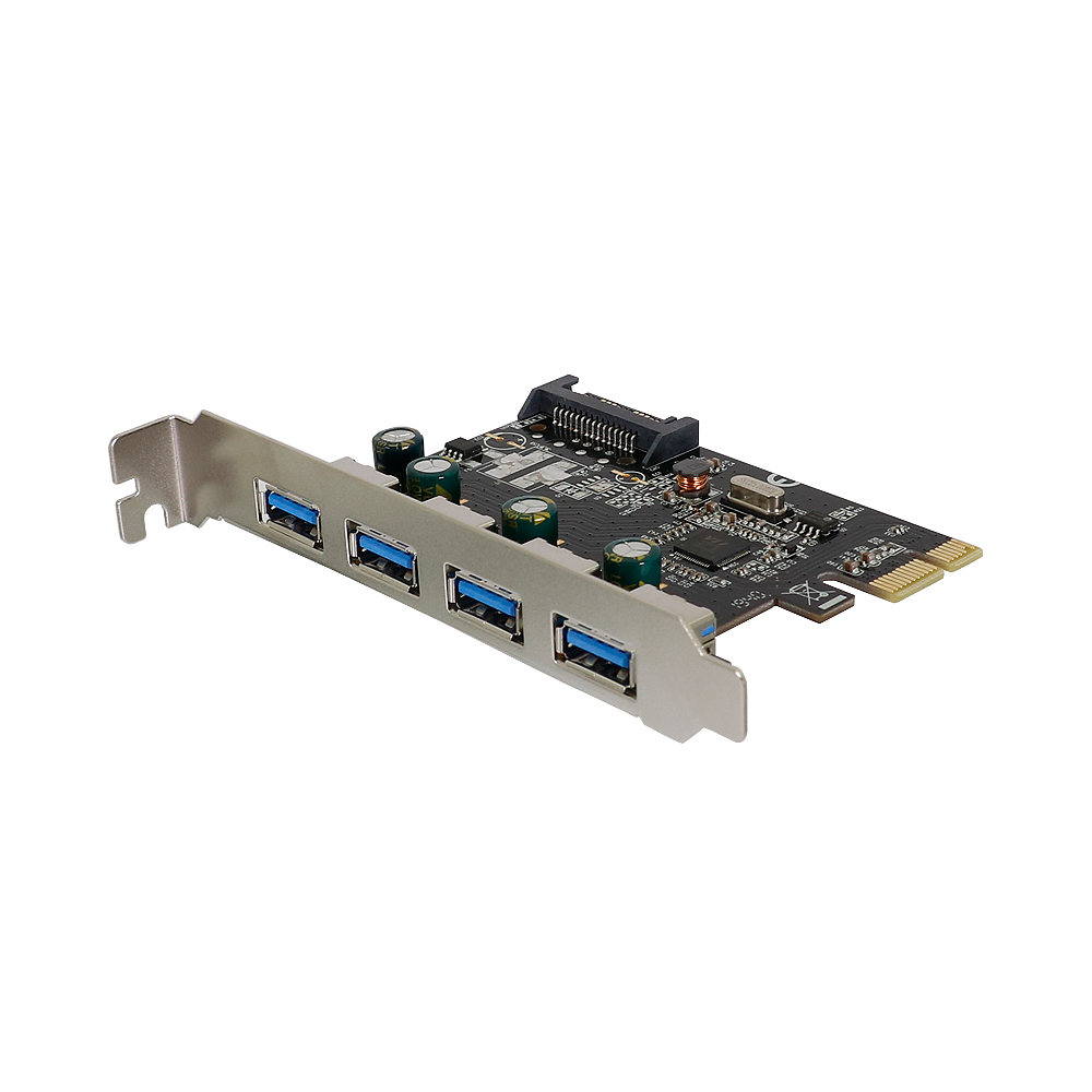 PCI-Express2.0接続 USB Type-A 3.0×4ポート インターフェースカード (OWL-PCEXU3E4S)