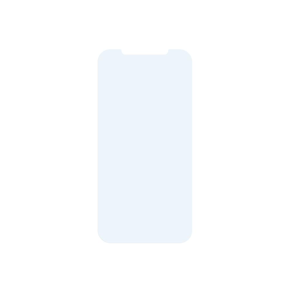 iPhone12/12Pro対応 (6.1インチ) 用 貼りミスゼロ かんたん3ステップ貼り付けキット付き 画面保護 強化ガラス マットブルーライトカット(OWL-GSIC61-AB) 宅C