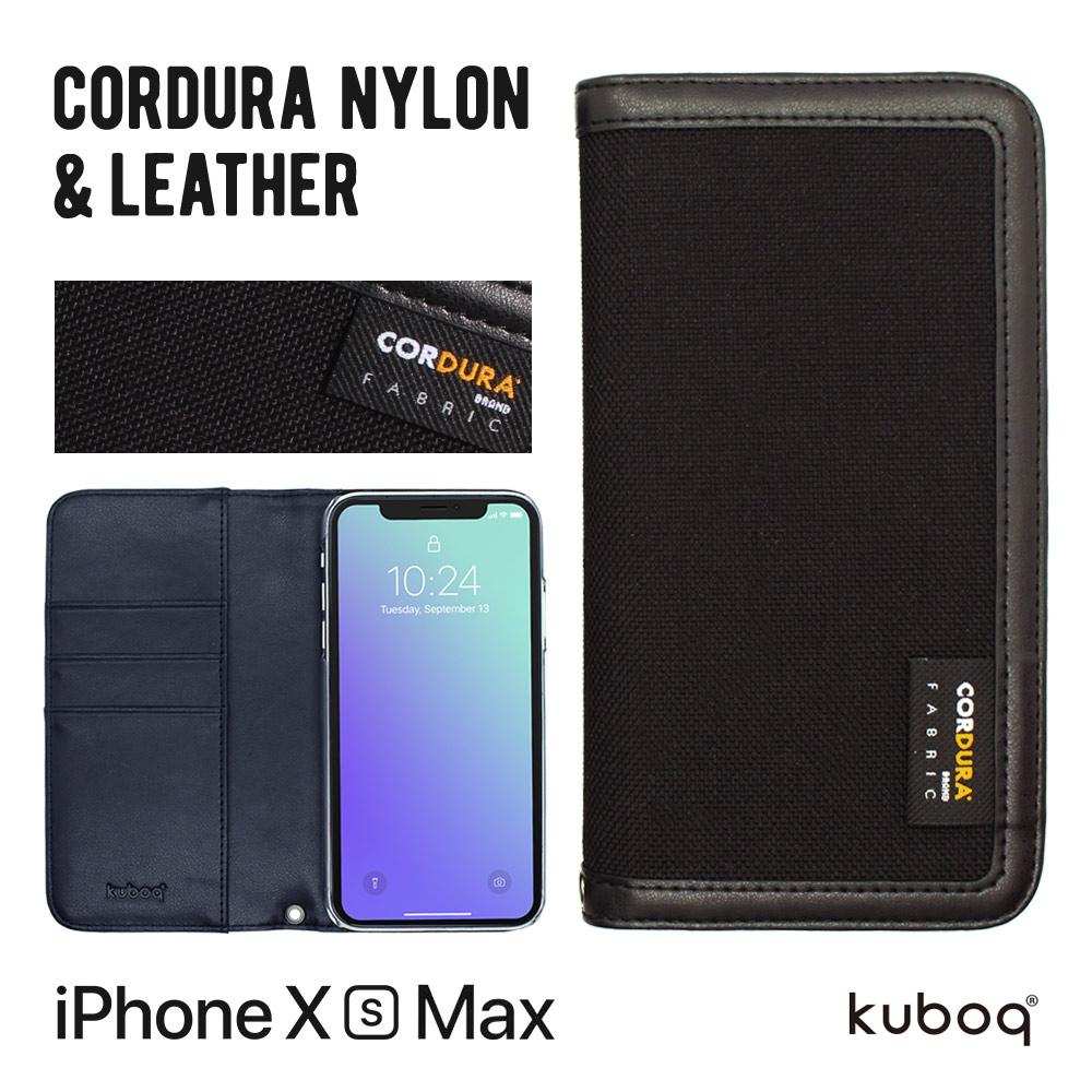 iPhone XS Max 6.5インチ 手帳型ケース CORDURA(OWL-CVIA6505)