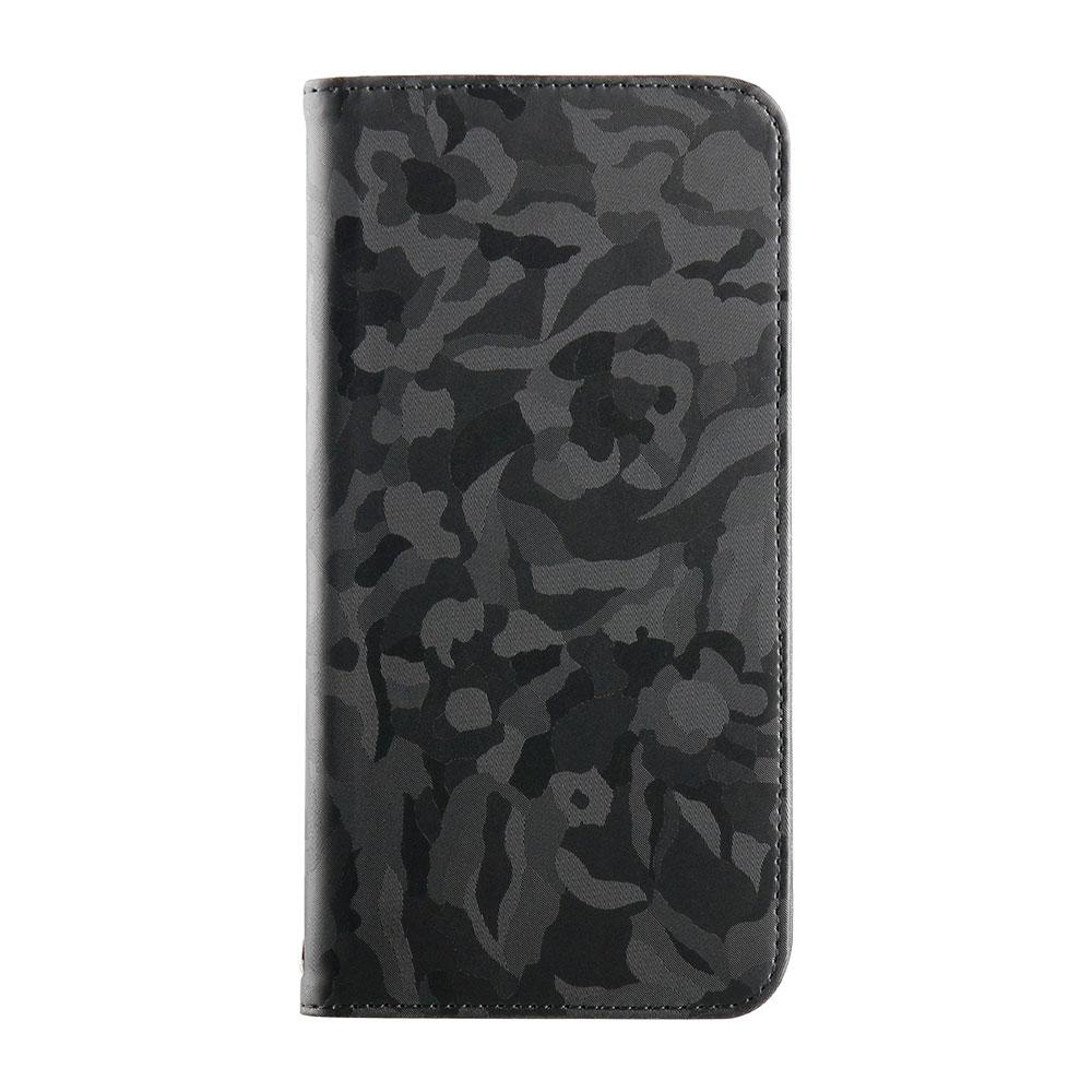iPhone XS Max 6.5インチ 手帳型ケース PUレザー カモフラージュ(OWL-CVIA6507)