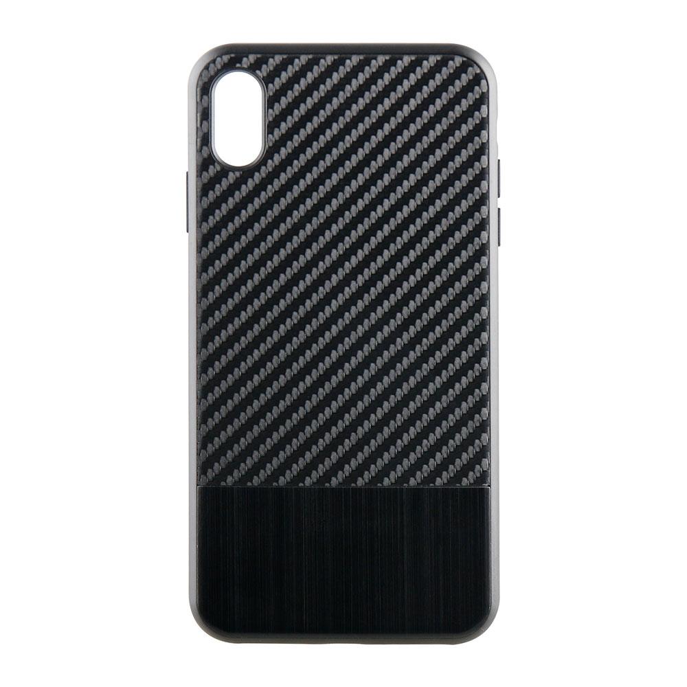 iPhone XS Max 6.5インチ ハイブリッドケース カーボン調(OWL-CVIA6509)