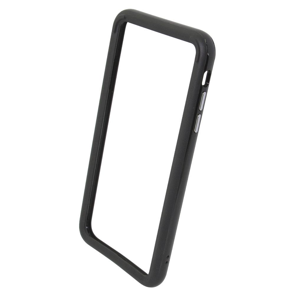 iPhone XS Max 6.5インチ ハイブリッドバンパー ブラック(OWL-CVIA6515)