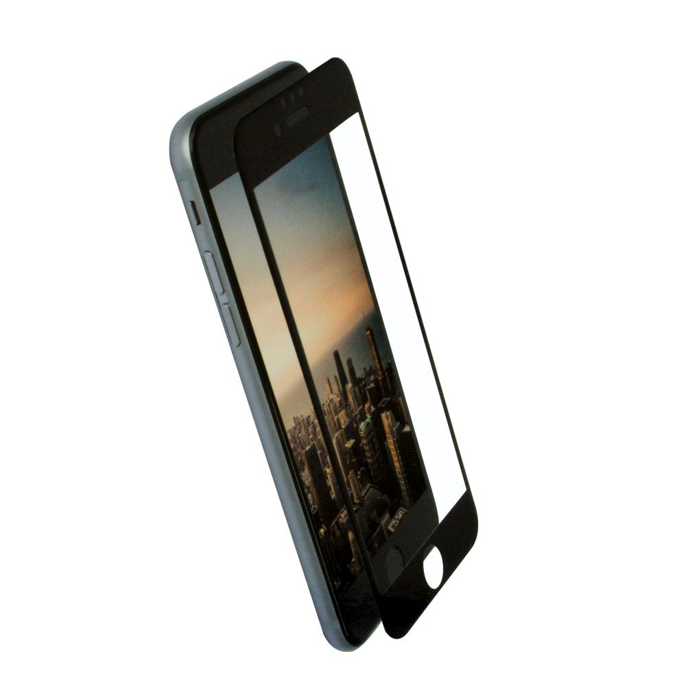 全面保護 強化ガラス 光沢タイプ iPhoneSE(第2世代)/8/7/6s/6対応(OWL-GPIP7SF-CL)