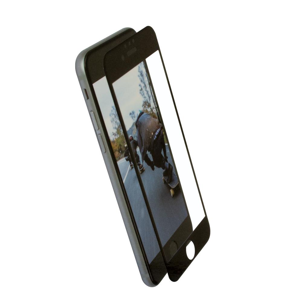 全面保護 強化ガラス iPhoneSE(第2世代)/8/7/6s/6対応 フチが欠けない アンチグレアタイプ ブルーライトカット(OWL-GPIP7SF-AB)