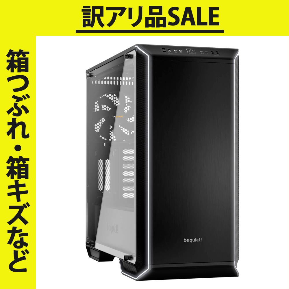 【アウトレット商品】【箱つぶれ・箱キズなど】be quiet ATX 静音タワーケース DARK BASE 700(BGW23)