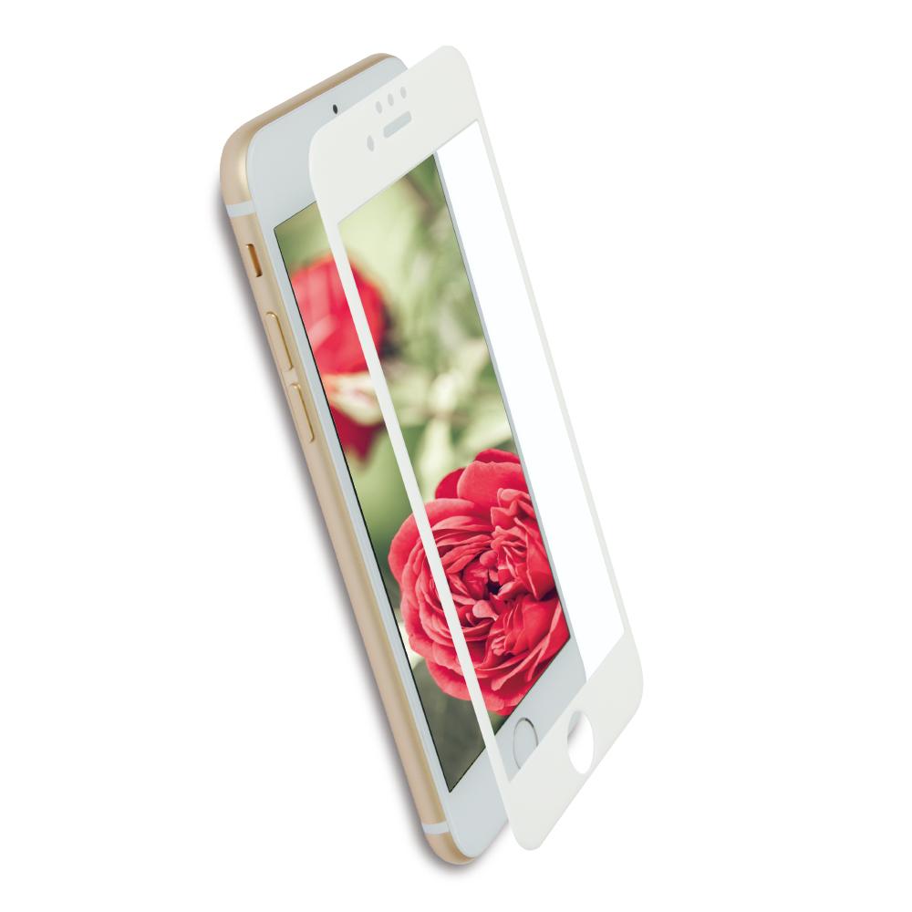 全面保護 強化ガラス iPhoneSE(第2世代)/8/7/6s/6対応 アンチグレアタイプ さらさらな指ざわりでフチが欠けない(OWL-GPIP7SF-AG)