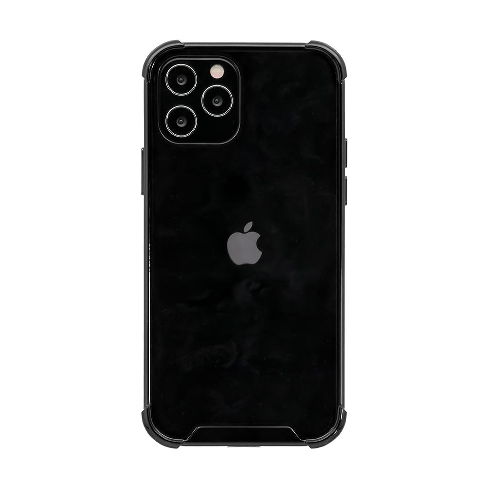 iPhone12/12Pro対応 (6.1インチ) 用 TPUとPCでしっかり守る 耐衝撃ハイブリッドケース(OWL-CVIC6109)宅C