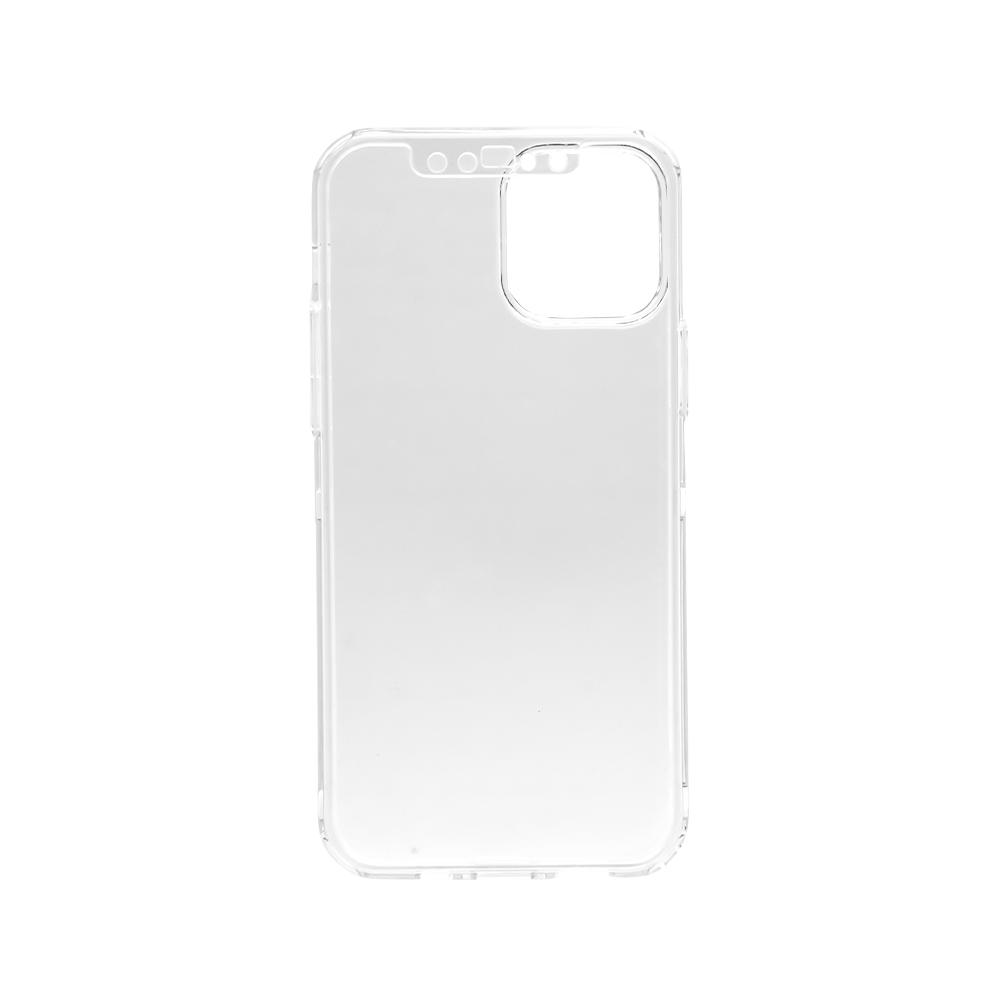 iPhone12/12Pro対応 (6.1インチ) 用 液晶画面保護マットガラス1枚付き 360度全面保護のフルカバーケース(OWL-CVIC6111)宅C