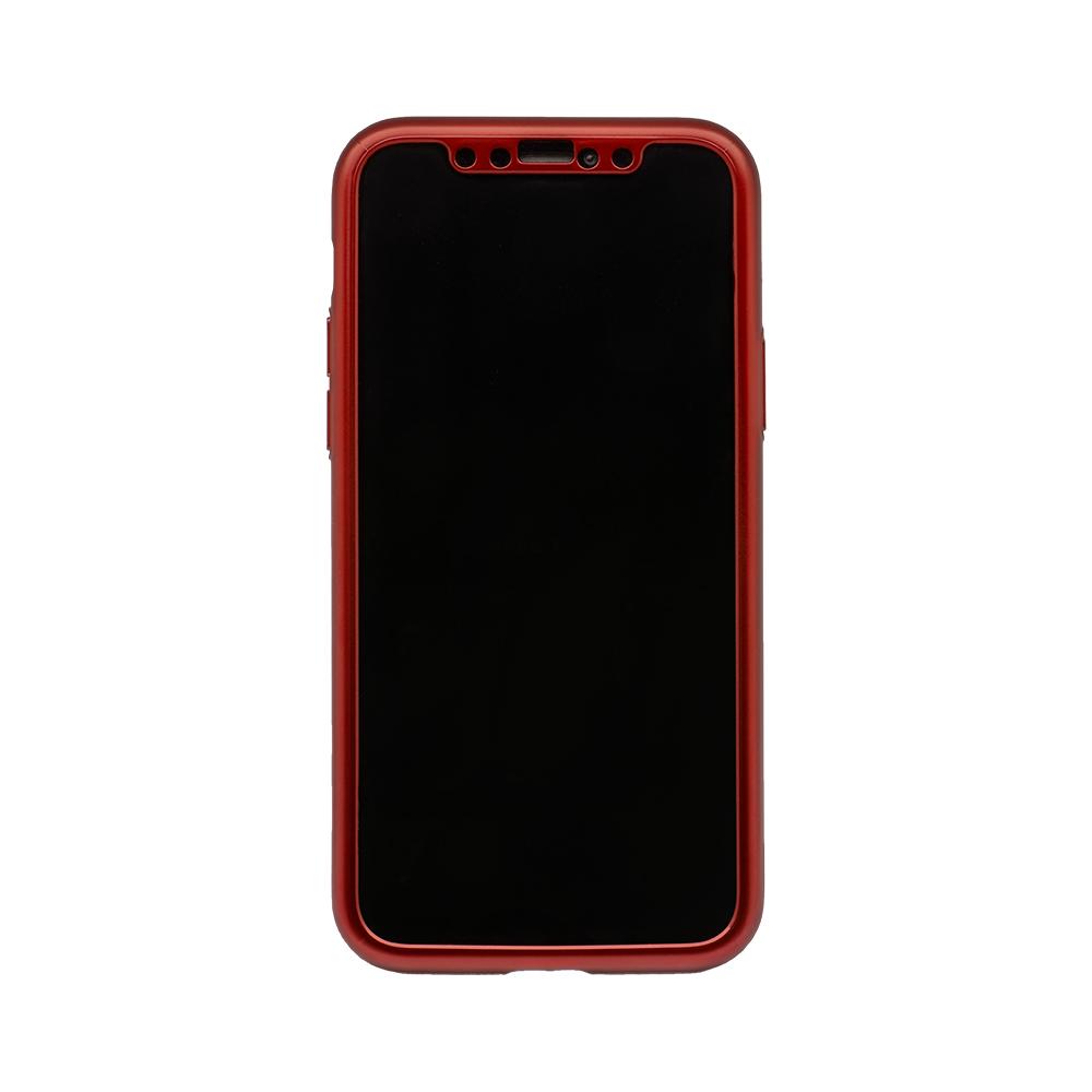iPhone 11 Pro対応 液晶画面保護ガラス1枚付き 360度全面保護のフルカバーケース(OWL-CVIB5810)宅C