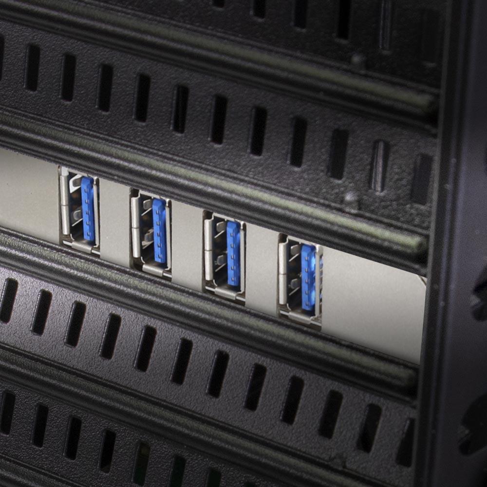 PCI-Express2.0接続 USB 3.0 Type-A ×4ポート ロープロファイル対応 インターフェースカード (OWL-PCEXU3E4LS)
