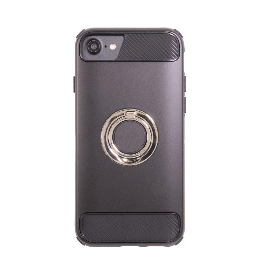 収納式の落下防止リングと耐衝撃性に優れたハイブリッドケース iPhone 8 / iPhone 7 / iPhone 6s / iPhone 6 対応(OWL-CVIP7S09)