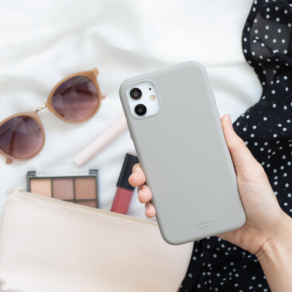 MOTTERU iPhone用 背面ケース やわらかウォーターシリコン SOFUMO (MOT-SOFUMO) 宅C