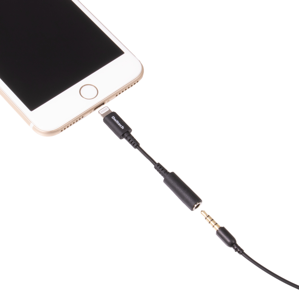 Lightning - 3.5mm オーディオ変換アダプター iPhone(OWL-CBLTF3502)宅C
