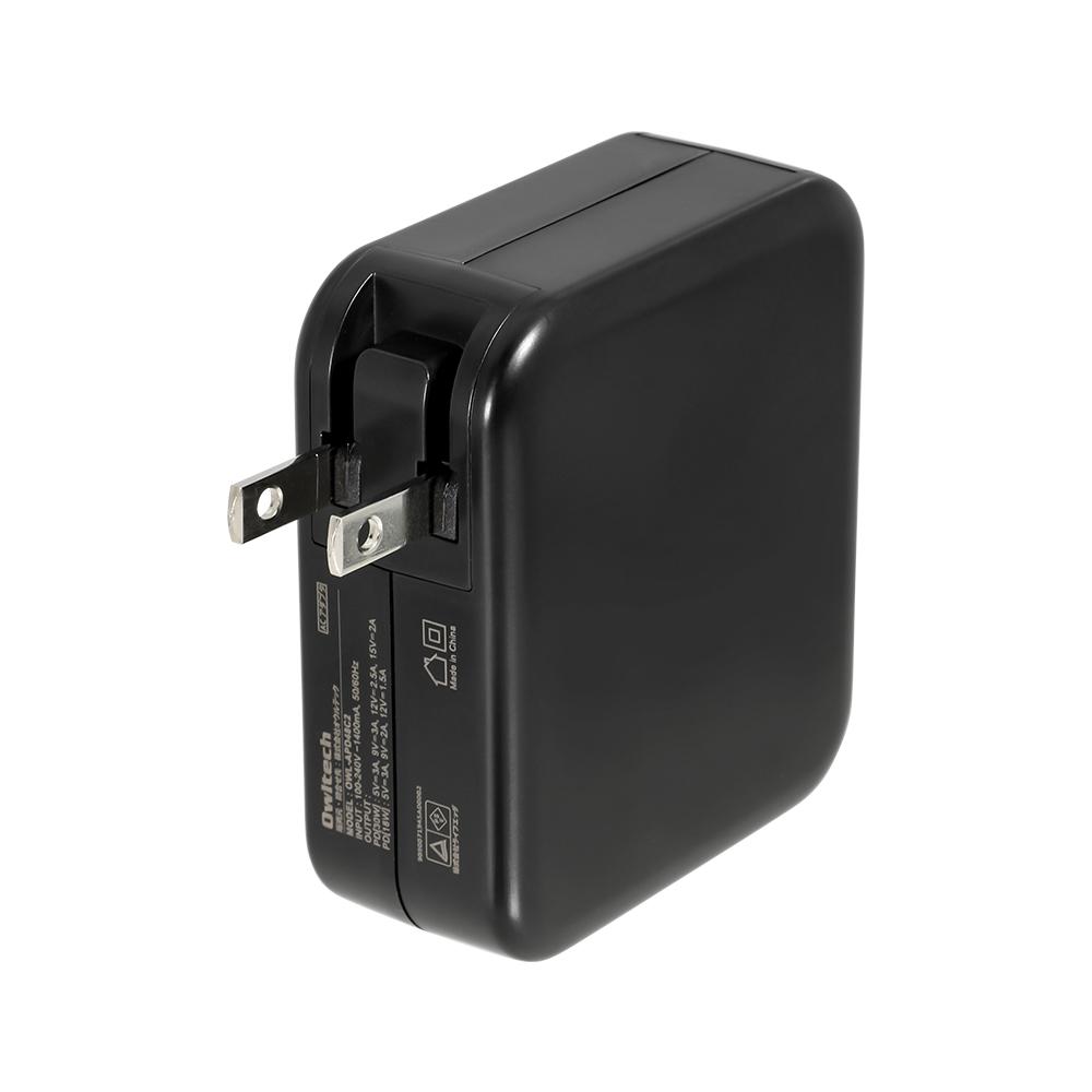 Power Delivery-PPS対応 かしこく超速充電 USB Type-C 2ポート搭載USB充電器 (OWL-APD48C2) 宅C