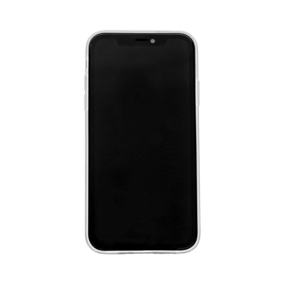 iPhone 11対応 落下防止リング付き TPUソフトカバーケース クリア(OWL-CVIB6105)宅C