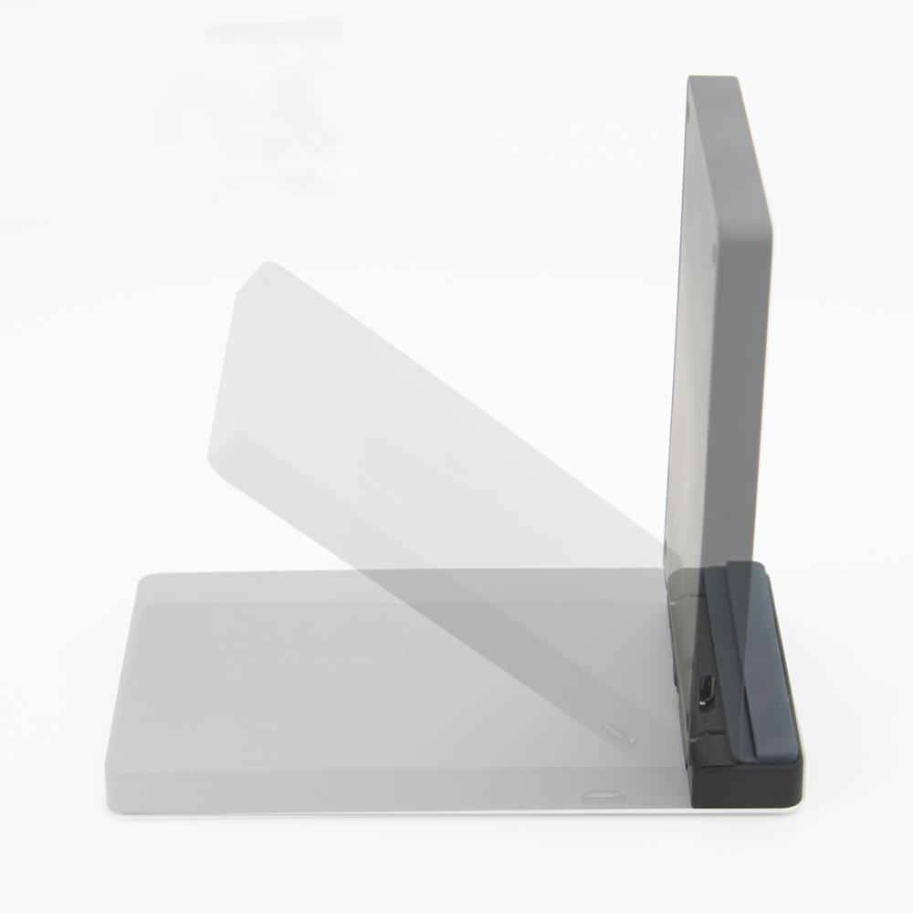 卓上スタンド型 Qi ワイヤレス充電器 (OWL-QI10W03)