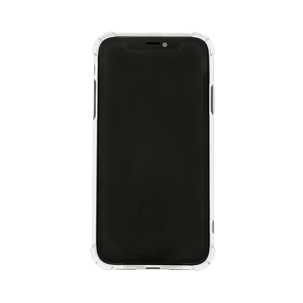 iPhone 11対応 落下防止リング付き 耐衝撃ハイブリッド ケース(OWL-CVIB6107)宅C
