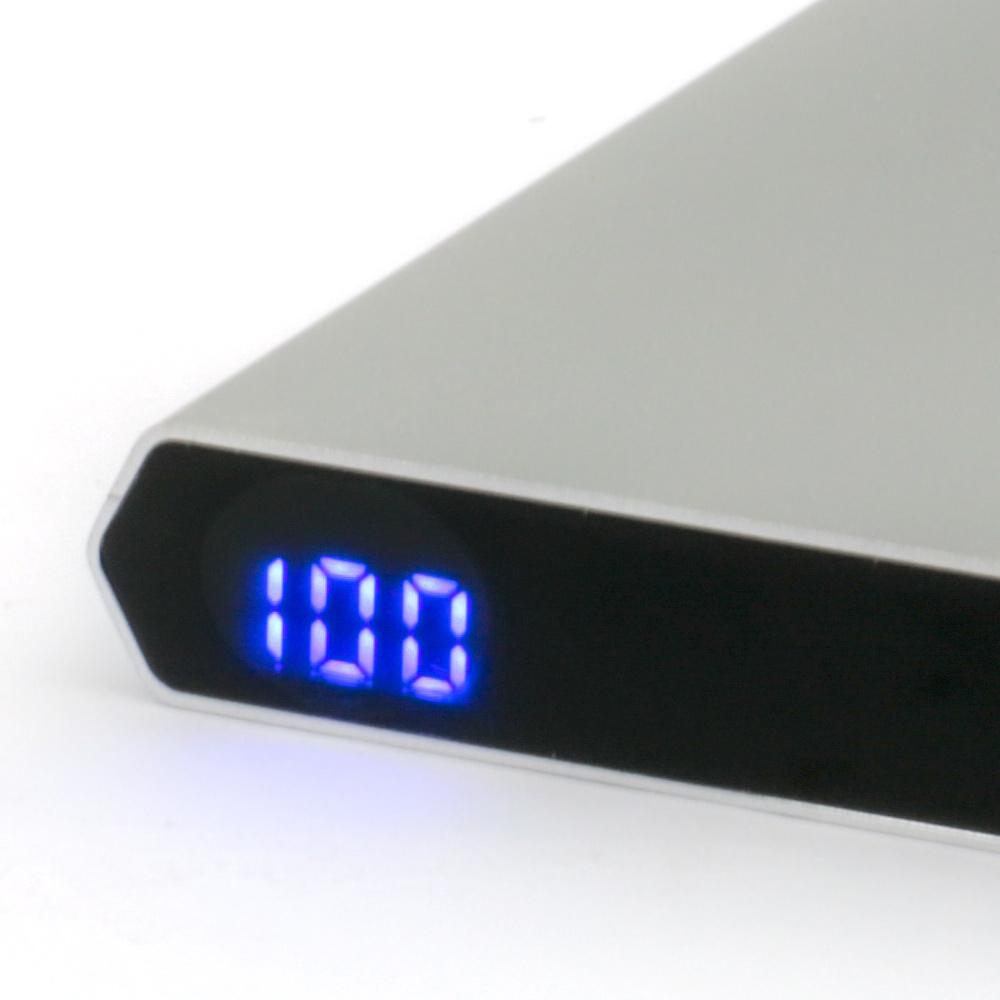 モバイルバッテリー デジタル残量表示 10,000mAh PD18W入出力対応Type-Cポート搭載(OWL-LPB10011)宅C