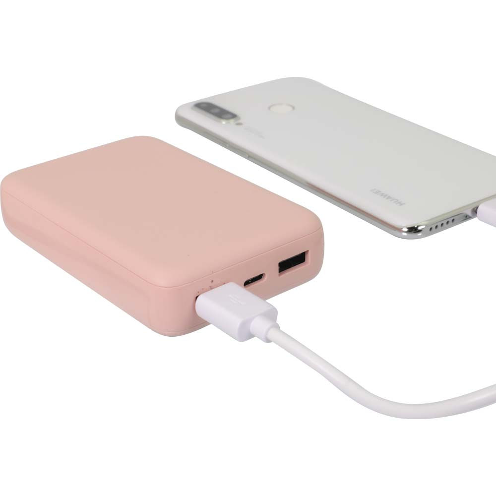 小型軽量モバイルバッテリー 10000mAh USB Type-C入出力+ USB Type-A出力 (OWL-LPB10012)