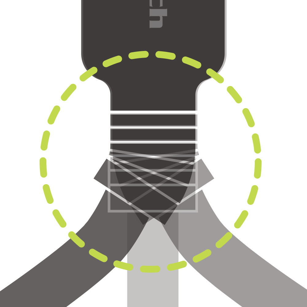 USB Type-C充電 / データ通信ケーブル 2m 200cm やわらかく断線に強い(OWL-CBKCASR20)
