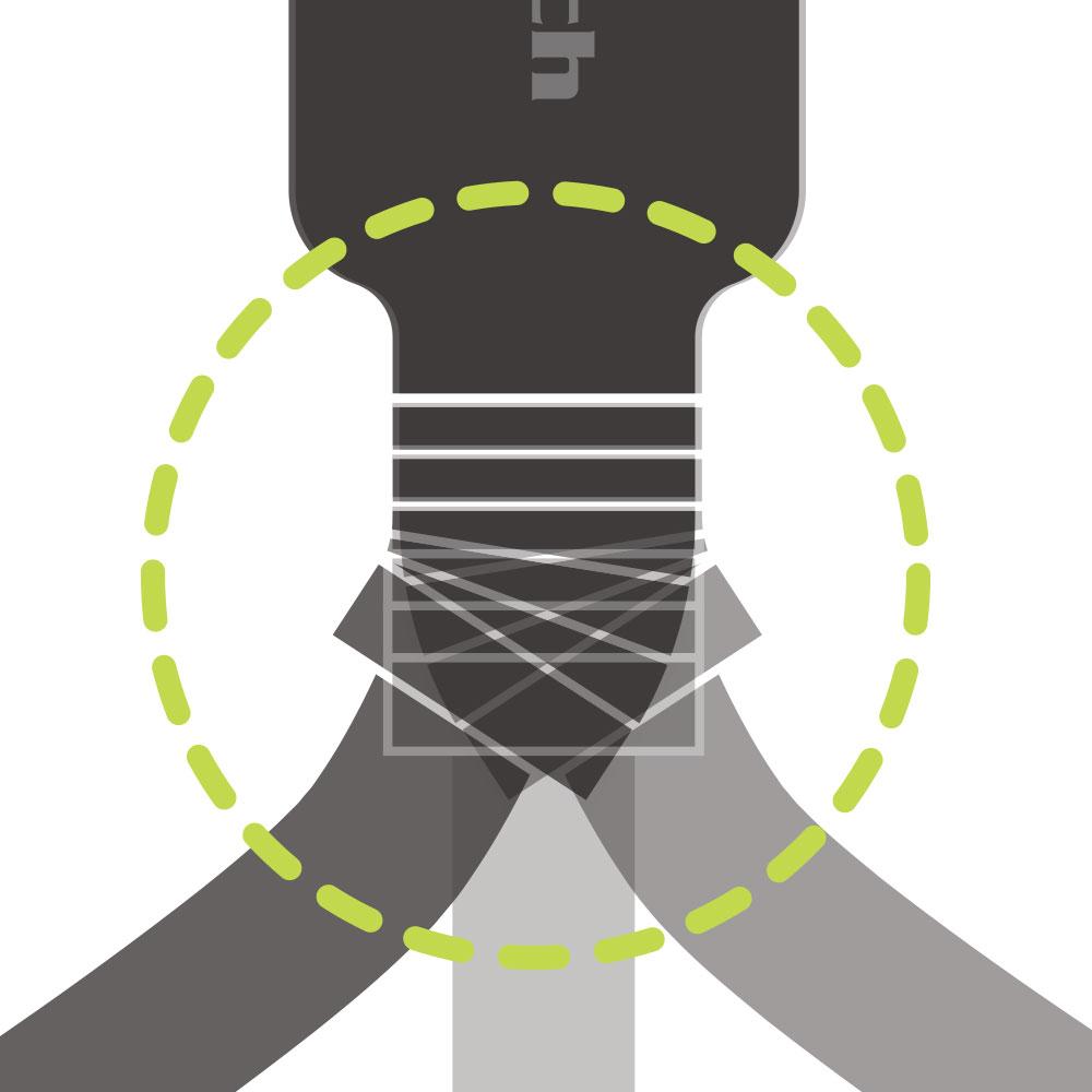 microUSB 充電 / データ通信ケーブル 50cm 0.5m やわらかく断線に強い(OWL-CBKMUSR5)