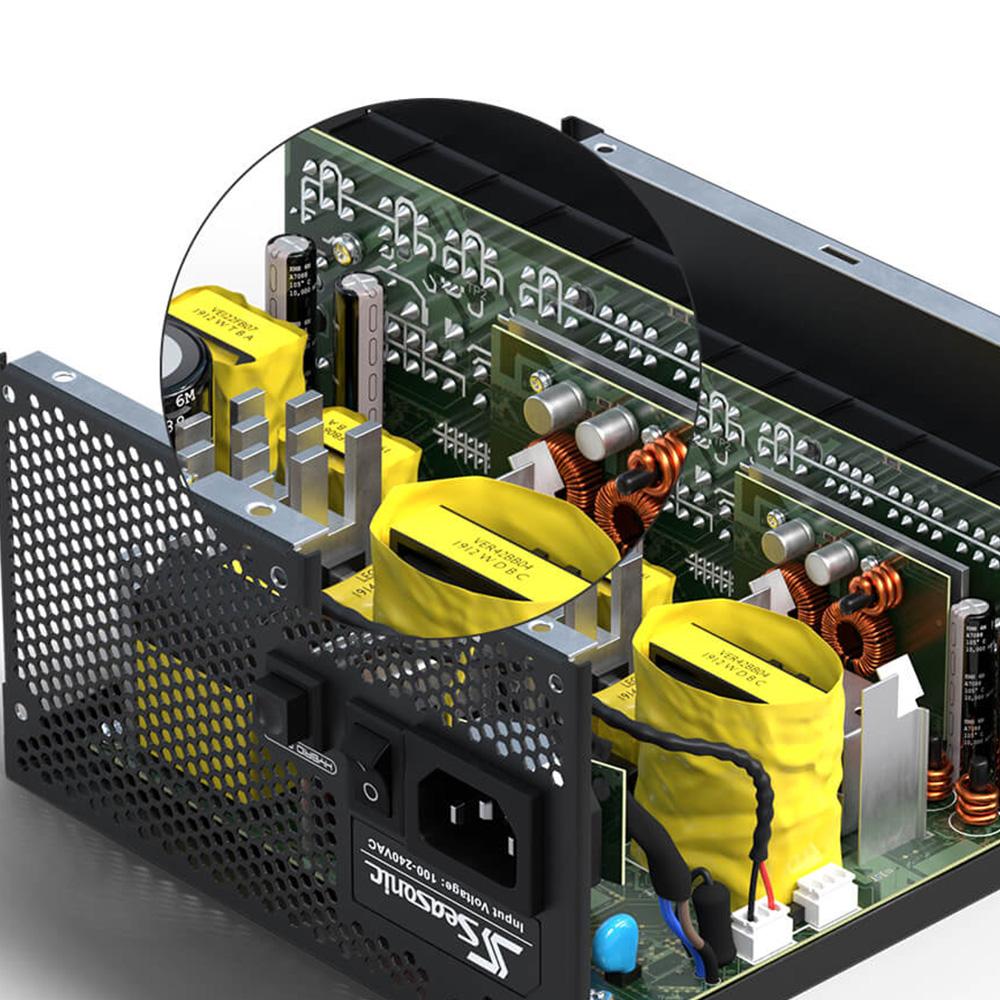 Seasonic 80PLUS GOLD認証取得 ATX電源 FOCUS GX 650W(FOCUS-GX-650)