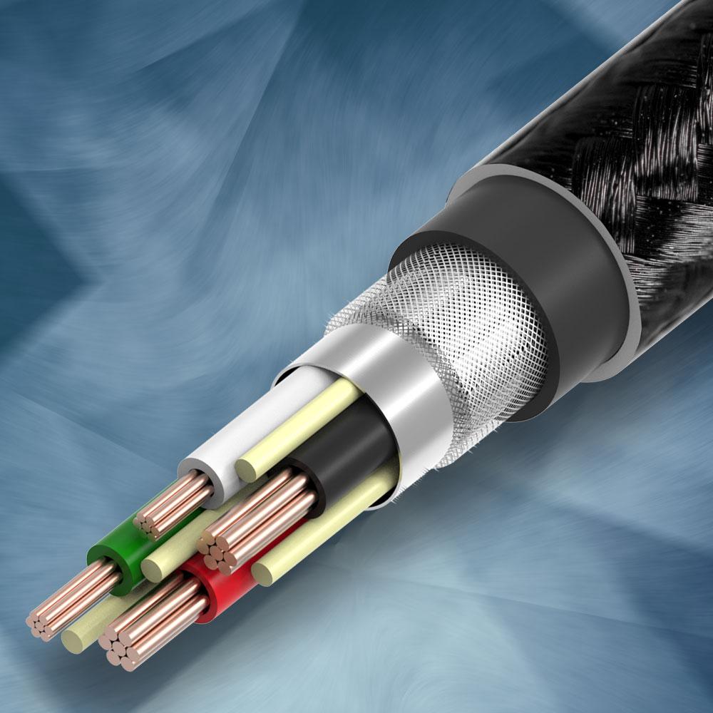 断線しないを目指して作った充電ケーブル 70cm Extreme Nylon(OWL-CBCLT7)