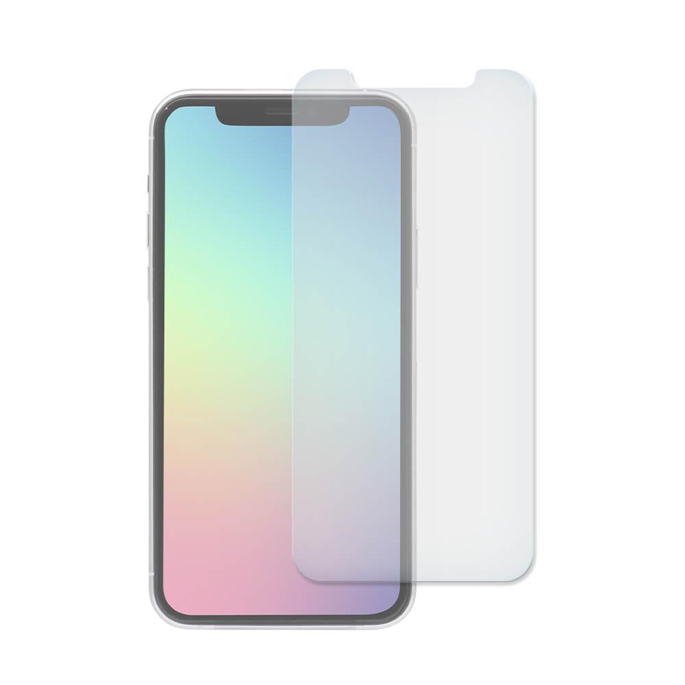 iPhone 11 Pro/Xs/X対応 液晶画面保護強化ガラス アンチグレア&ブルーライトカット(OWL-GSIB58-AB)宅C