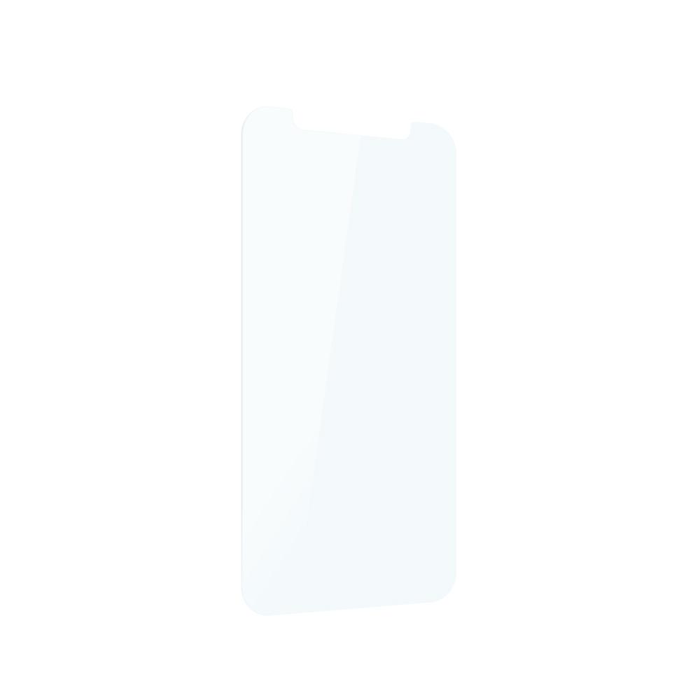 iPhone 12 mini用 貼り付けキット付き 画面保護 抗菌強化ガラス 抗菌+光沢ブルーライトカット(OWL-ZGSIC54-BCAN) 宅C