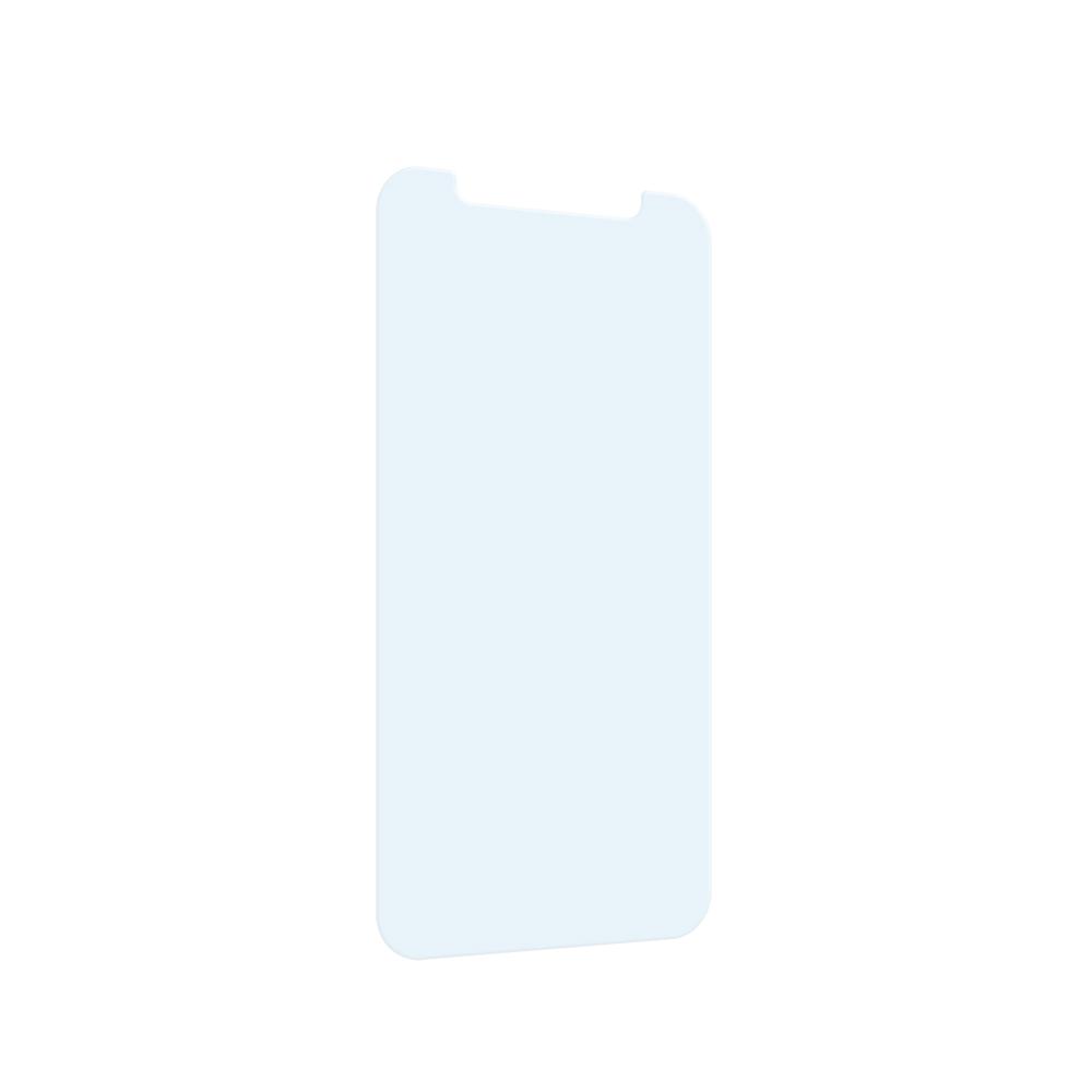 iPhone 12 mini用 貼り付けキット付き 画面保護 抗菌強化ガラス 抗菌+マットブルーライトカット(OWL-ZGSIC54-ABAN) 宅C