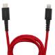 超タフ Type-C to Lightningケーブル USB PD対応 1m(OWL-CBKLTC10)宅C