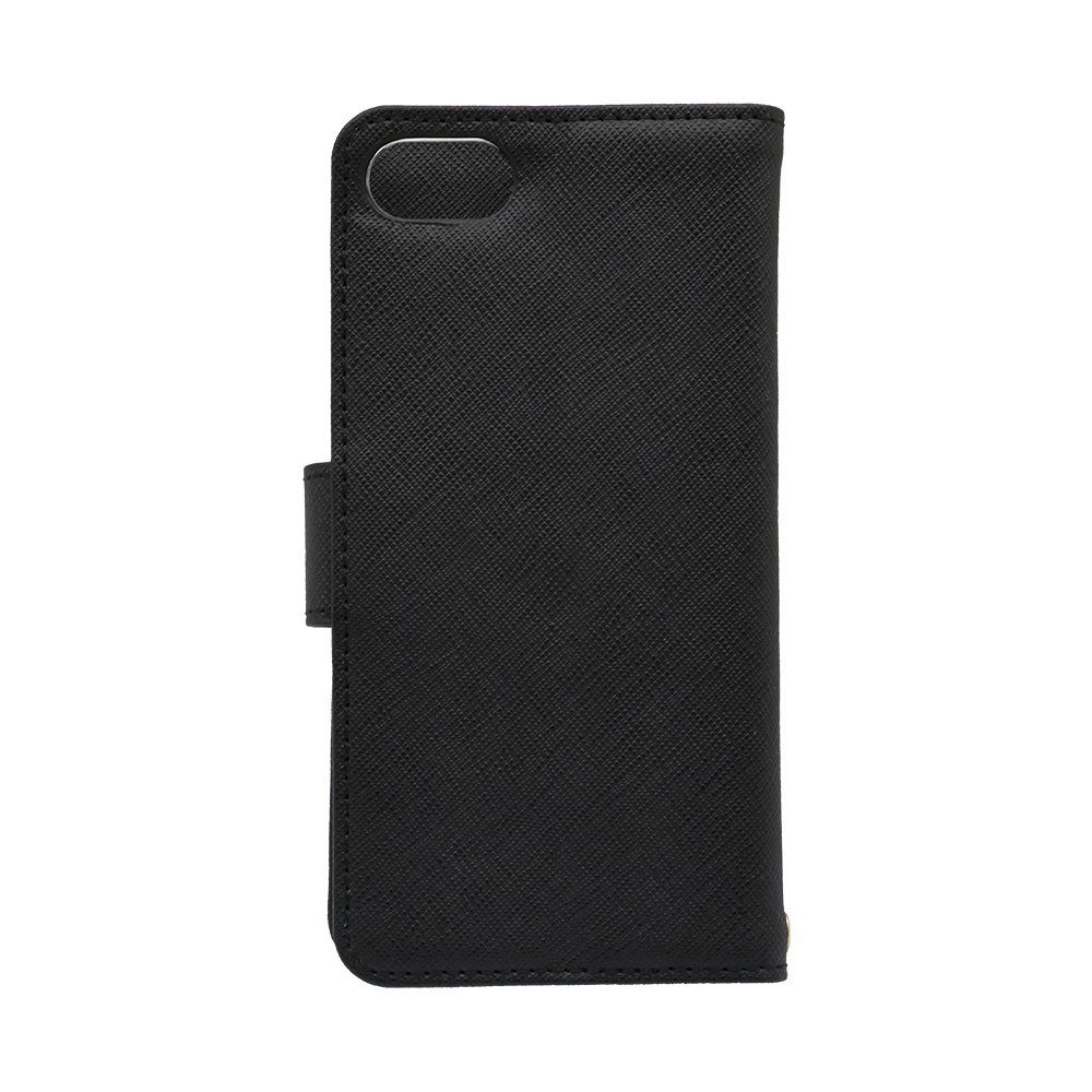 手触りの良いPUレザーの手帳型ケース iPhoneSE(第2世代)/8/7/6s対応(OWL-CVIC4701)