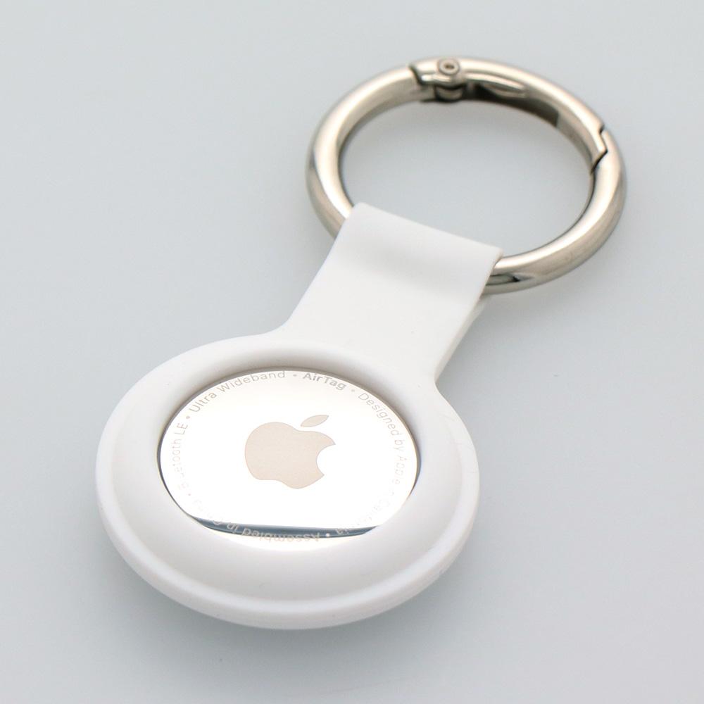 Apple AirTag専用キーリング付きシリコンケース(OWL-CVAT01)宅C