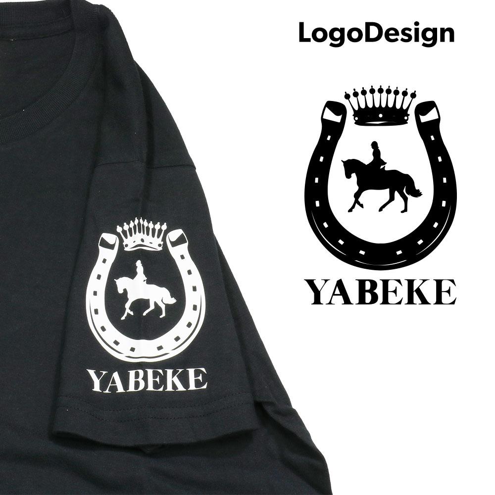 【受注生産:ご注文から2週間前後で発送予定】Tシャツ YABEKEモデル ブラック(LE-YBK-08-11)