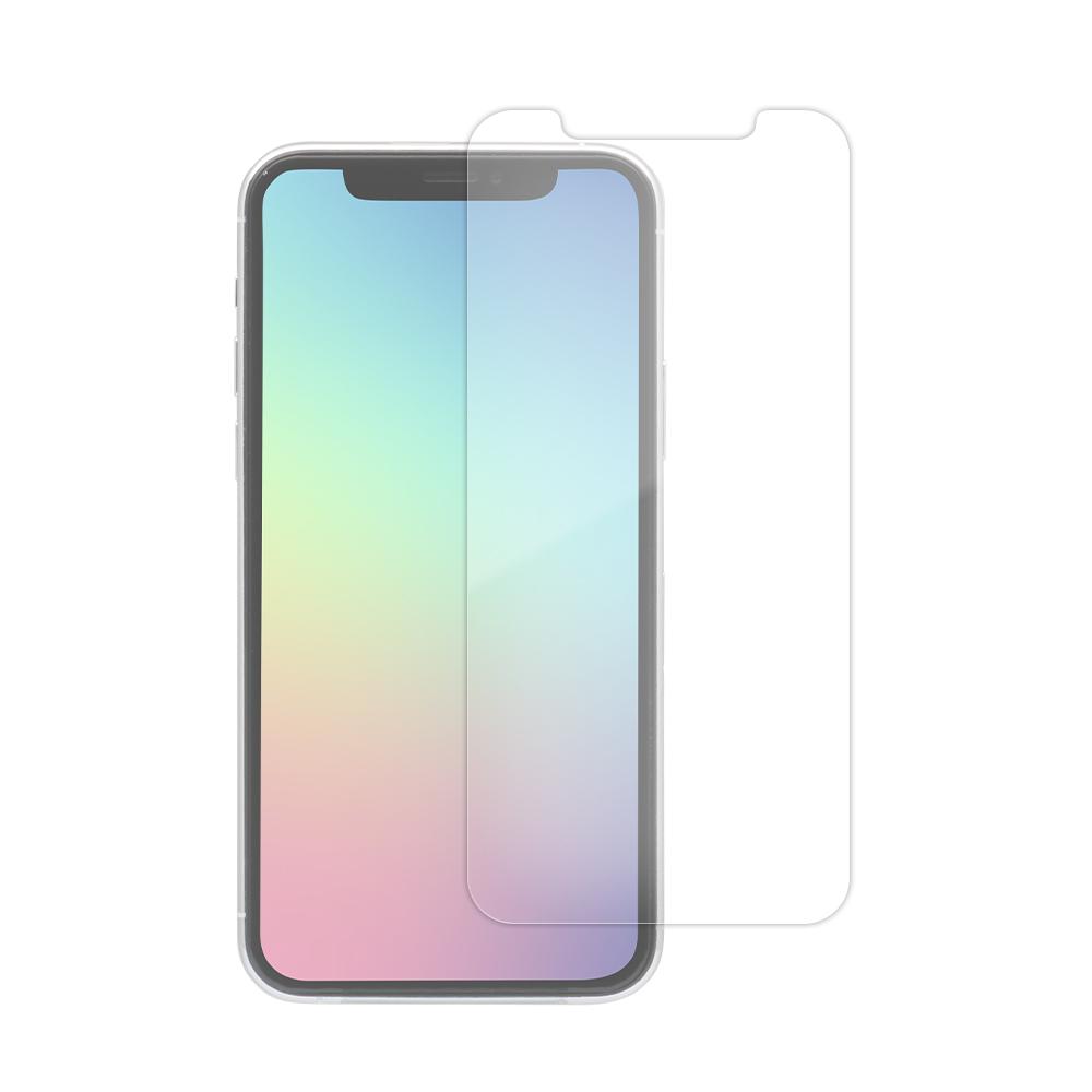 iPhone 11 /XR対応 液晶画面保護強化ガラス クリア(OWL-GSIB61-CL)宅C