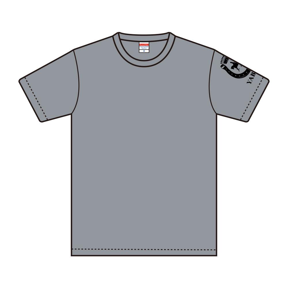 【受注生産:ご注文から2週間前後で発送予定】Tシャツ YABEKEモデル グレー(LE-YBK-12-15)
