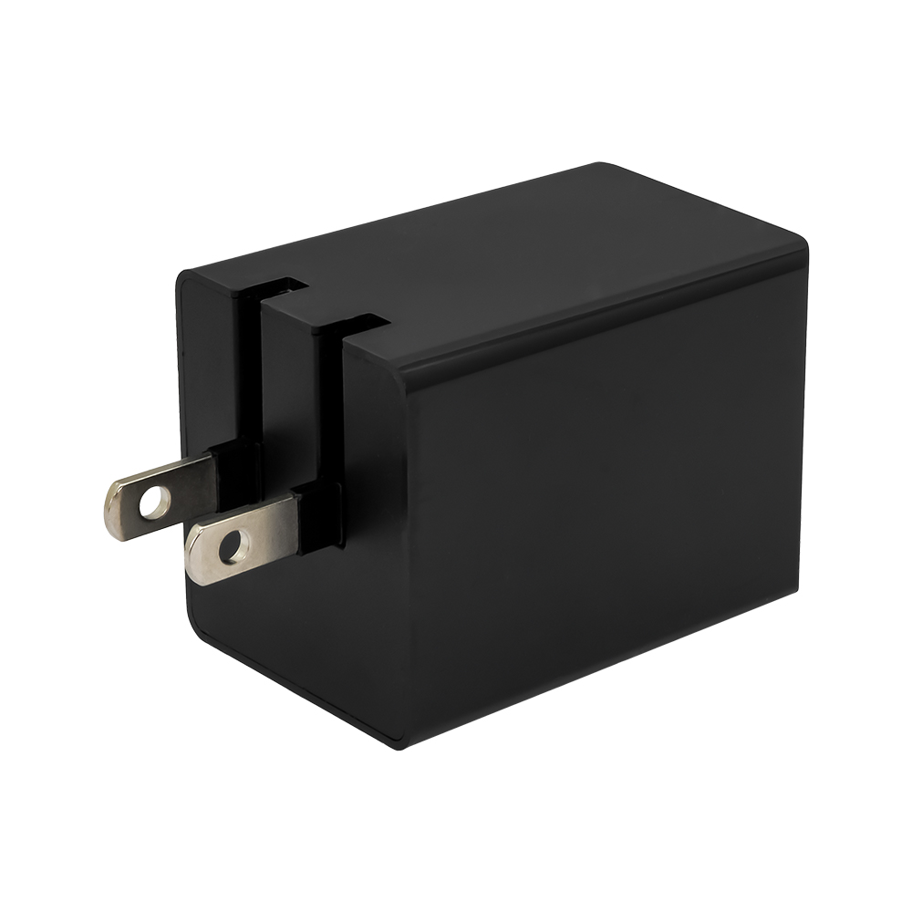 窒化ガリウム採用 2ポートAC充電器 PowerDelivery 30W Type-C + QC18W USB Type-A (OWL-APD48C1A1G)宅C