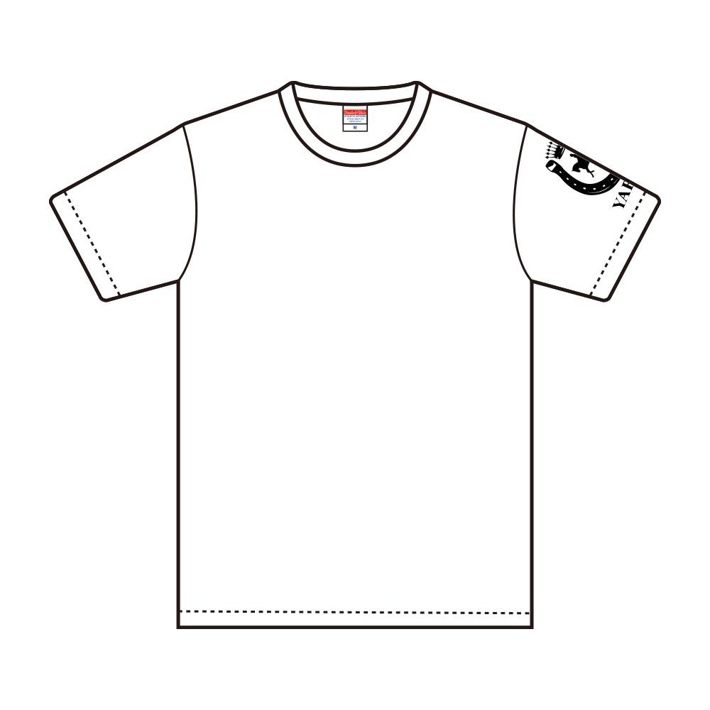 【受注生産:ご注文から2週間前後で発送予定】Tシャツ YABEKEモデル ホワイト(LE-YBK-16-19)