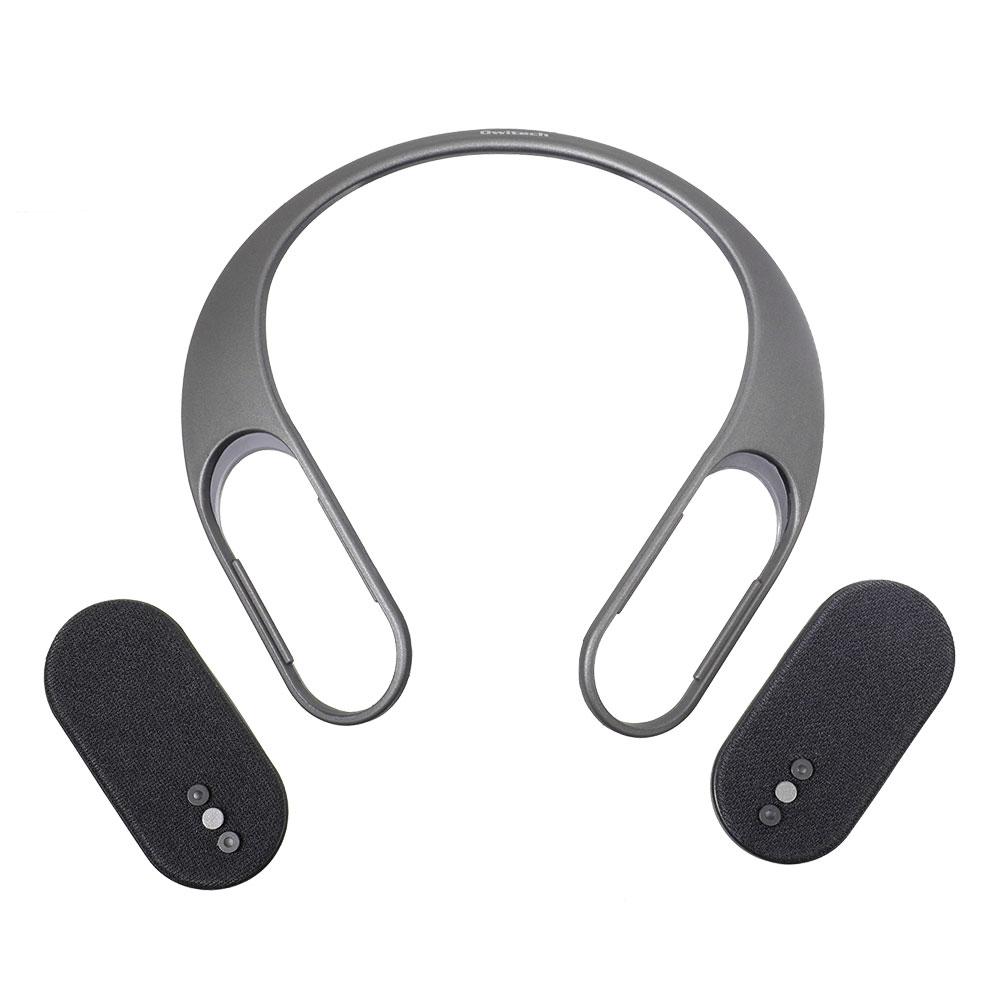 首掛け 防水Bluetoothスピーカー パッシブラジエーター搭載 2WAYサウンド(OWL-BTSP08)