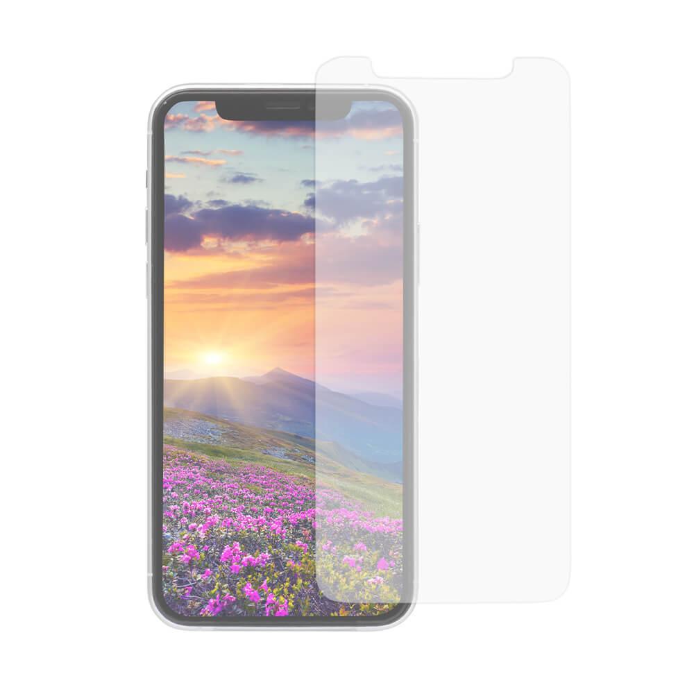 iPhone 11 Pro/Xs/X対応 トリプルストロング耐衝撃ガラス 貼りミスゼロのかんたん貼り付けキット付き アンチグレア(OWL-GUIB58-AG)宅C