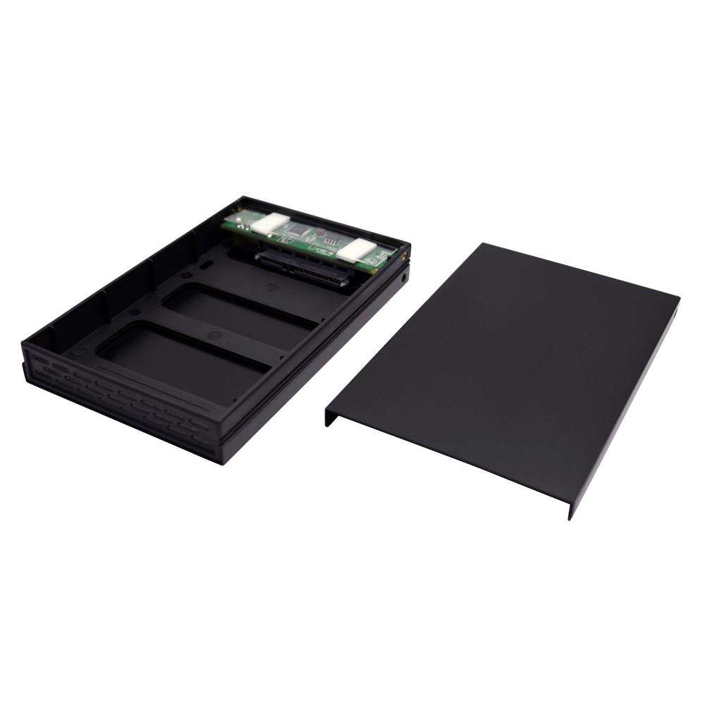 "SATA 2.5""HDDアルミケース『黒角MINI』 USB3.0版(OWL-ESL25S-U3)"