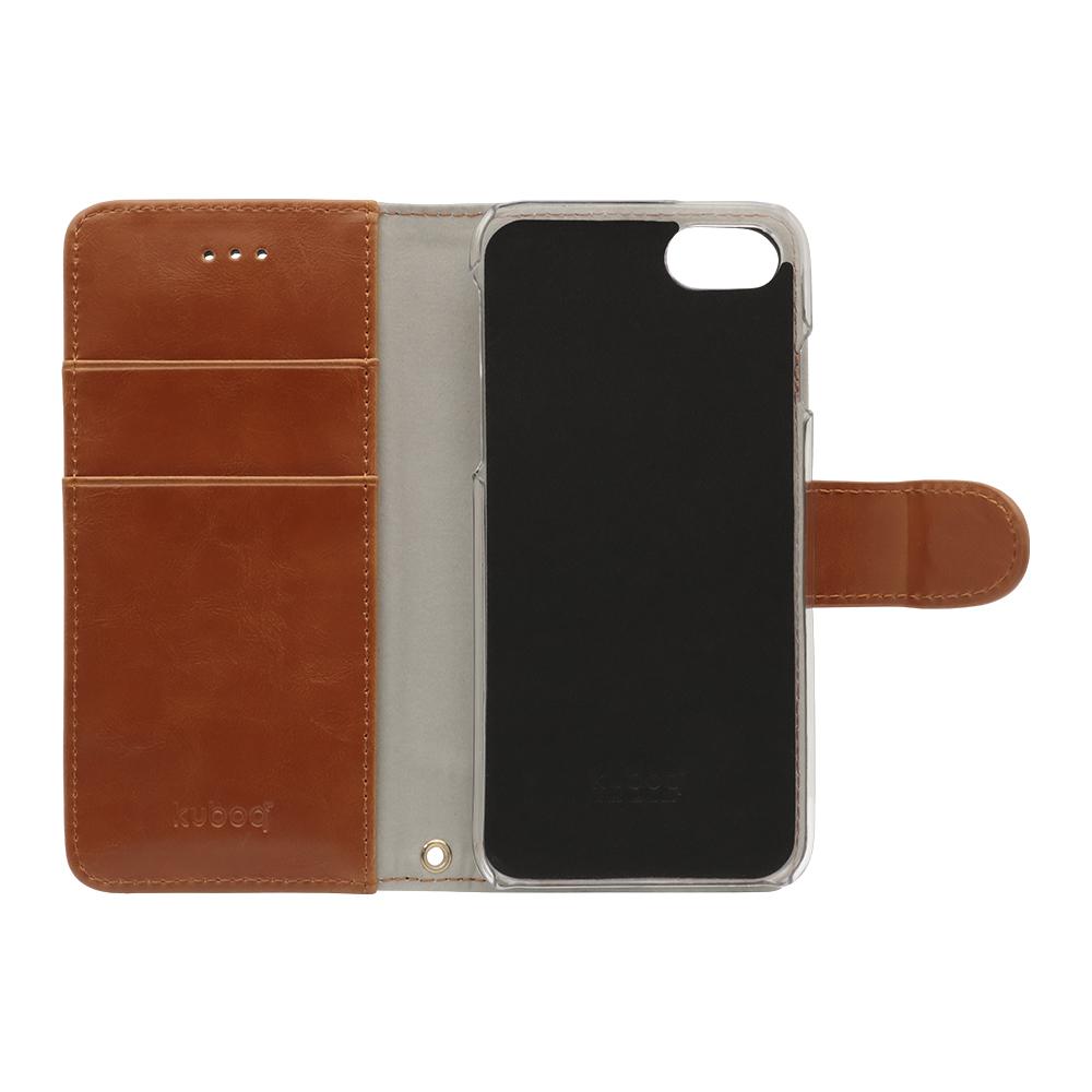 デニムとPUレザーの組み合わせがオシャレな 手帳型ケース iPhoneSE(第2世代)/8/7/6s対応(OWL-CVIC4712)