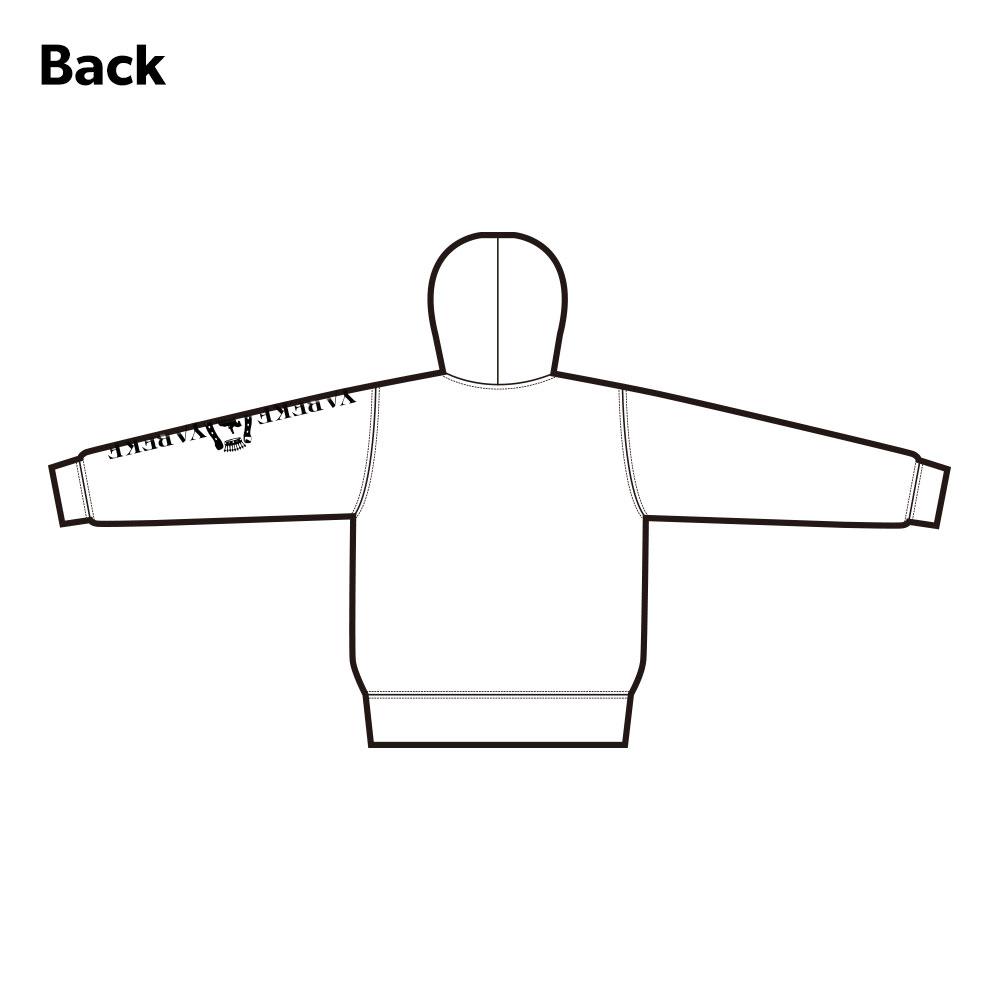【受注生産:ご注文から2週間前後で発送予定】パーカー YABEKEモデル ホワイト(LE-YBK-40-43)