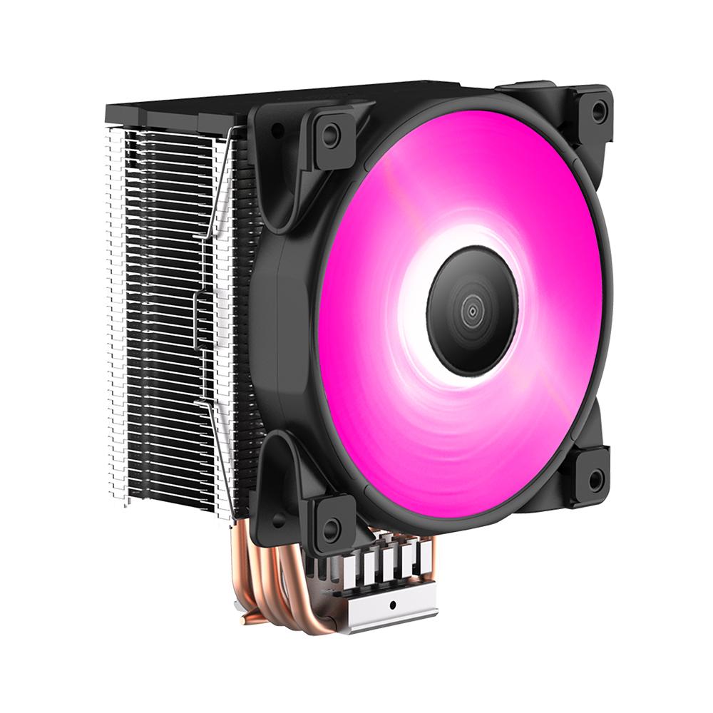 PCCOOLER製 HDT方式採用 RGBコントローラー付属 TDP160W対応 ミドルレンジCPUクーラー(GI-D56V)