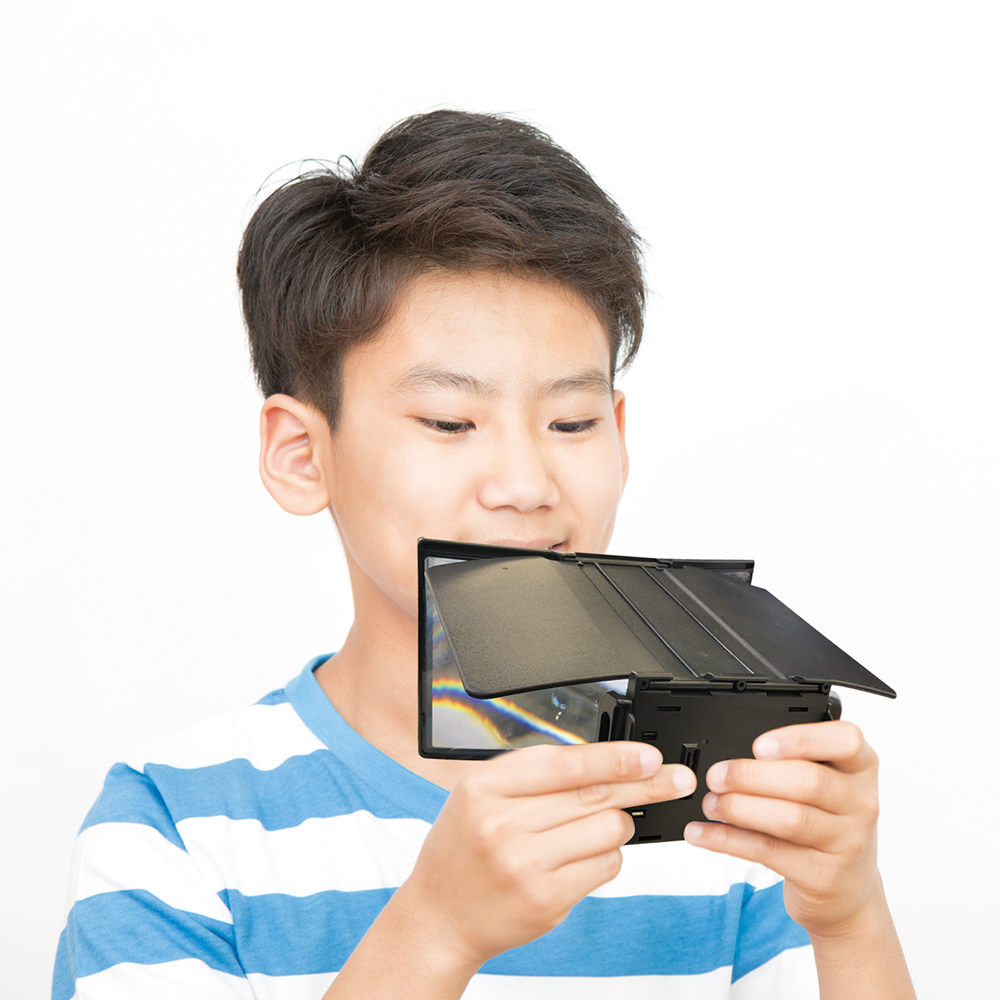 2WAY スマートフォン拡大鏡 アームスタンド (OWL-ARMSTD02)