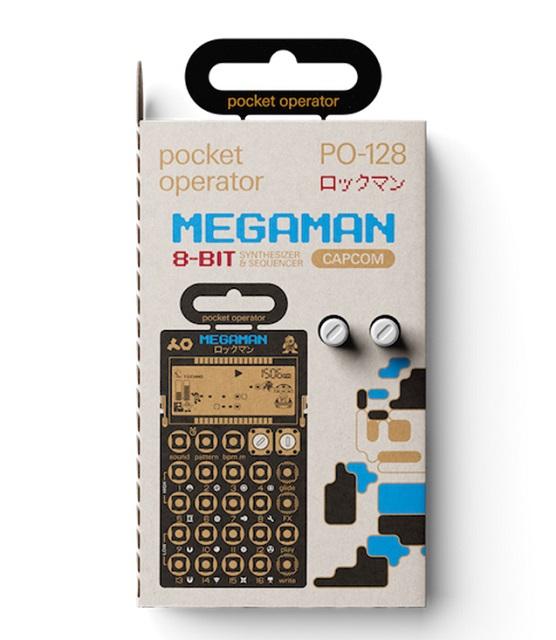 teenage engineering PO-128 MEGAMAN(ロックマン)